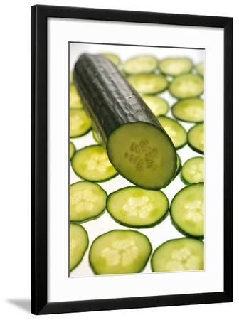 Cucumber-Frank May-Framed Photo