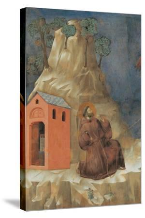 St. Francis Receiving Stigmata-Giotto-Stretched Canvas Print