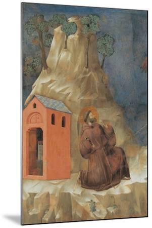 St. Francis Receiving Stigmata-Giotto-Mounted Art Print