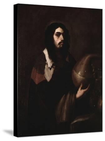 Self-Portrait as an Alchemist-Luca Giordano-Stretched Canvas Print