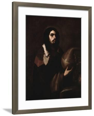 Self-Portrait as an Alchemist-Luca Giordano-Framed Art Print