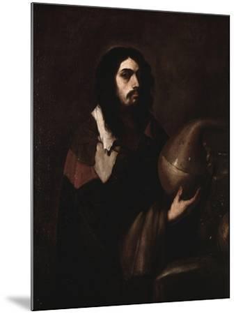 Self-Portrait as an Alchemist-Luca Giordano-Mounted Art Print