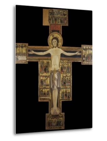 Painted Cross also known as Cross Number 15--Metal Print