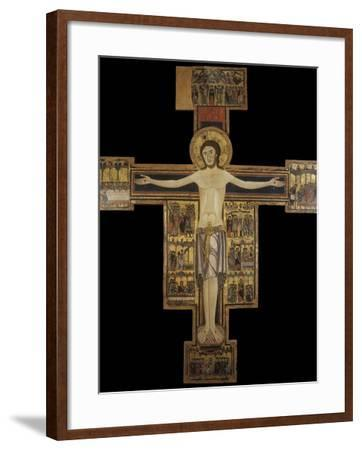 Painted Cross also known as Cross Number 15--Framed Photo