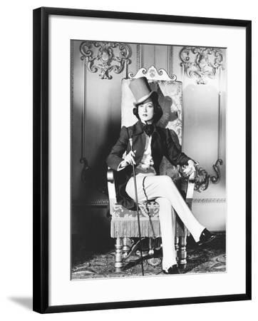 A Song to Remember, Merle Oberon as George Sand, 1945--Framed Photo