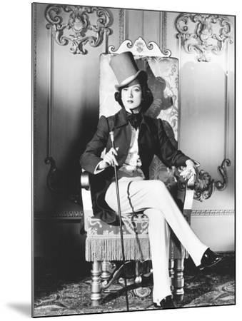 A Song to Remember, Merle Oberon as George Sand, 1945--Mounted Photo