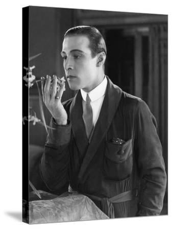 Beyond the Rocks, Rudolph Valentino, 1922--Stretched Canvas Print