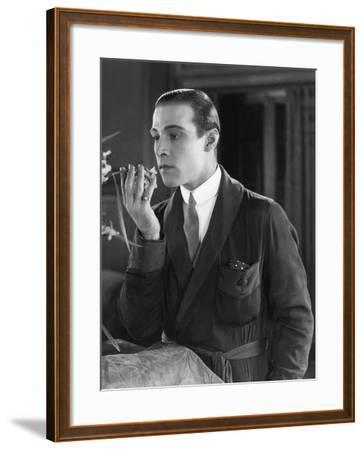Beyond the Rocks, Rudolph Valentino, 1922--Framed Photo