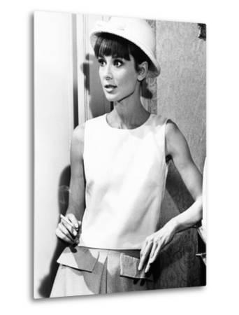 Paris When it Sizzles, Audrey Hepburn, 1964--Metal Print
