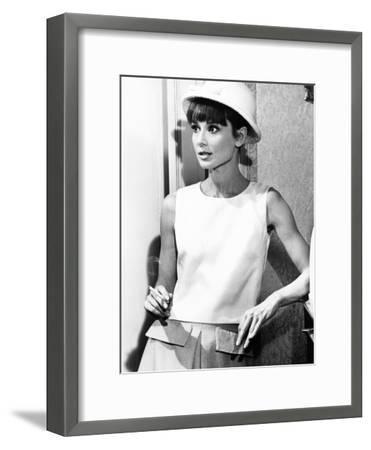 Paris When it Sizzles, Audrey Hepburn, 1964--Framed Photo