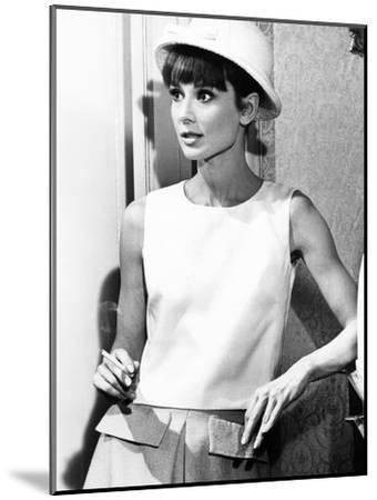 Paris When it Sizzles, Audrey Hepburn, 1964--Mounted Photo