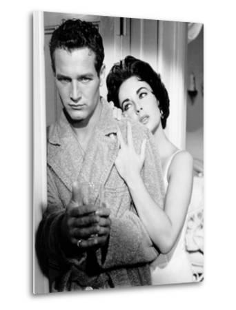 Cat on a Hot Tin Roof, Paul Newman, Elizabeth Taylor, 1958--Metal Print
