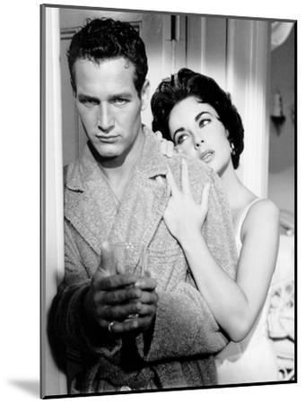 Cat on a Hot Tin Roof, Paul Newman, Elizabeth Taylor, 1958--Mounted Photo
