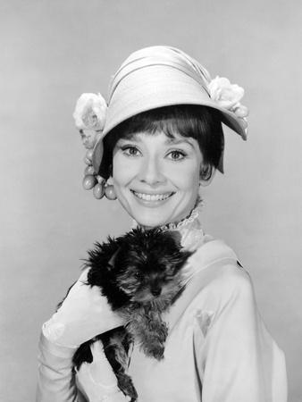 My Fair Lady, Audrey Hepburn, 1964--Framed Photo