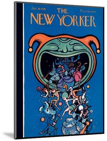 The New Yorker Cover - January 30, 1926-Rea Irvin-Mounted Premium Giclee Print