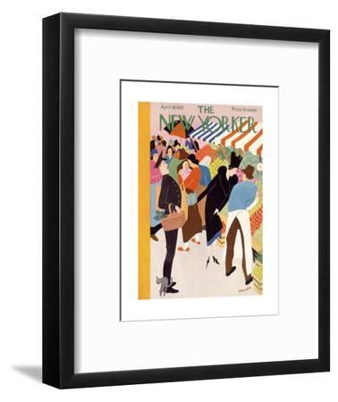 The New Yorker Cover - April 30, 1932-Theodore G. Haupt-Framed Premium Giclee Print
