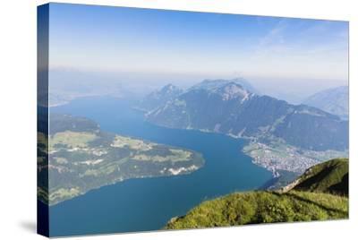 Lake Lucerne-Frank Lukasseck-Stretched Canvas Print