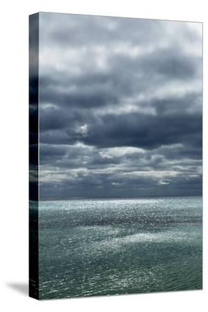 Cloud Impression at Ocean-Frank Krahmer-Stretched Canvas Print