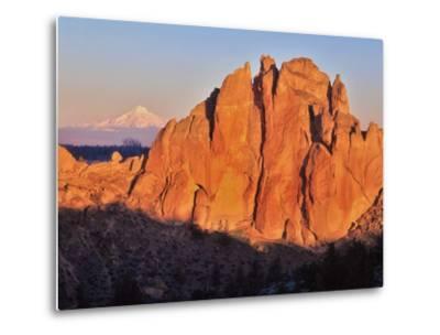 Smith Rock, Oregon-Steve Terrill-Metal Print
