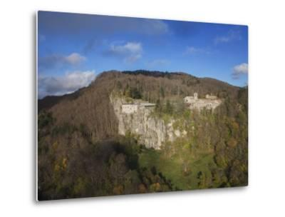 Air View of La Verna Hermitage-Guido Cozzi-Metal Print