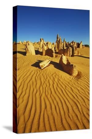 Erosion Landscape Pinnacles-Frank Krahmer-Stretched Canvas Print