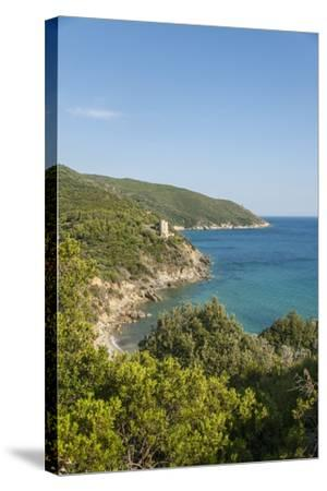 Le Cannelle Beach-Guido Cozzi-Stretched Canvas Print