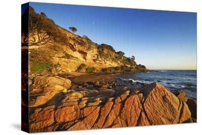 Coast Landscape at Bunker Bay-Frank Krahmer-Stretched Canvas Print