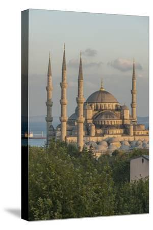 Sultan Ahmet Camii, the Blue Mosque-Guido Cozzi-Stretched Canvas Print