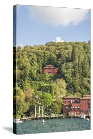 Beautiful Houses along Bosporus-Guido Cozzi-Stretched Canvas Print