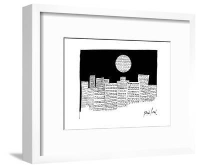 New Yorker Cartoon-David Pascal-Framed Premium Giclee Print