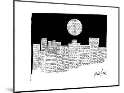 New Yorker Cartoon-David Pascal-Mounted Premium Giclee Print