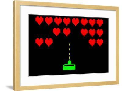 Valentine-nito-Framed Art Print