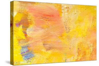 Abstract Painting Fragment-Suchota-Stretched Canvas Print