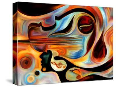 Elements of Music-agsandrew-Stretched Canvas Print