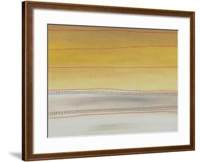 Abstract Painting-Ekaterina Vassilieva-Framed Art Print