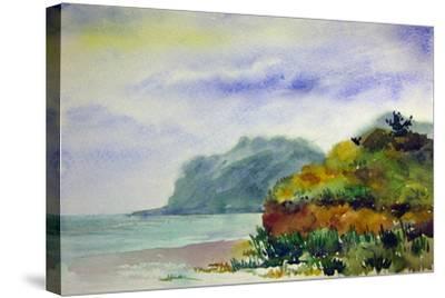 Sea Shore-Igor-Stretched Canvas Print