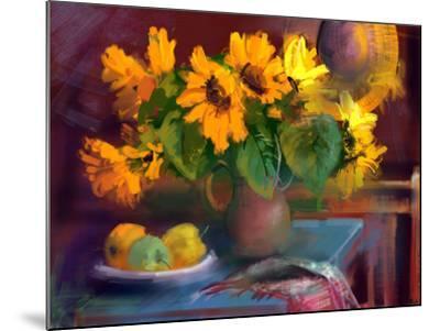 Sunflowers- yakymenko-Mounted Art Print