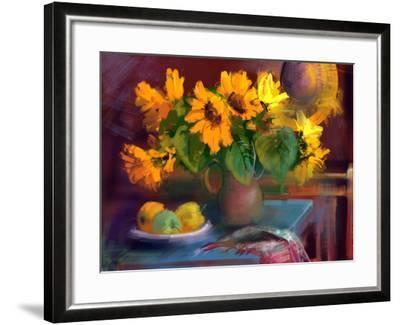 Sunflowers- yakymenko-Framed Art Print