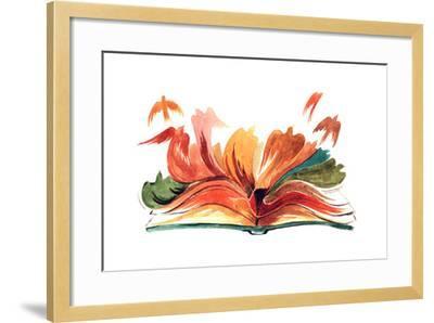 Book-okalinichenko-Framed Art Print