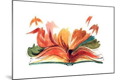 Book-okalinichenko-Mounted Art Print