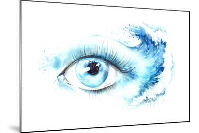 Eye-okalinichenko-Mounted Art Print