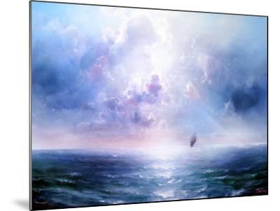 Seascape Open Sea- yakymenko-Mounted Art Print