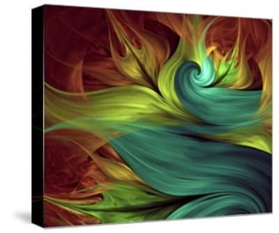 Computer Generated Fractal Artwork-Stocklady-Stretched Canvas Print