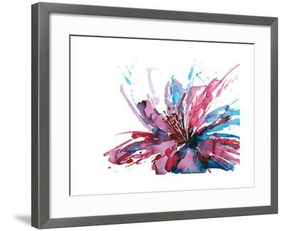 Abstract Flower-okalinichenko-Framed Art Print