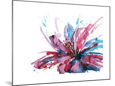 Abstract Flower-okalinichenko-Mounted Art Print