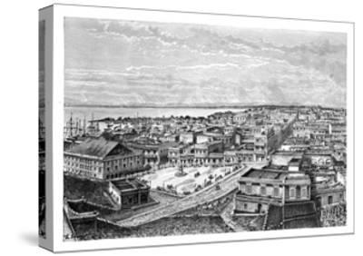 General View of San Juan Bautista, Puerto Rico, C1890-A Kohl-Stretched Canvas Print