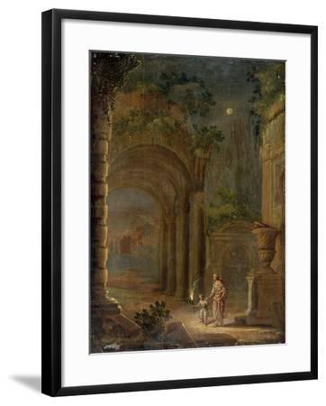 Landscape, End of 16th Century-Adam Elsheimer-Framed Giclee Print
