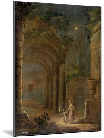 Landscape, End of 16th Century-Adam Elsheimer-Mounted Giclee Print