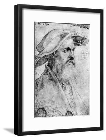 Eobanus Hesse, 1526-Albrecht Durer-Framed Giclee Print
