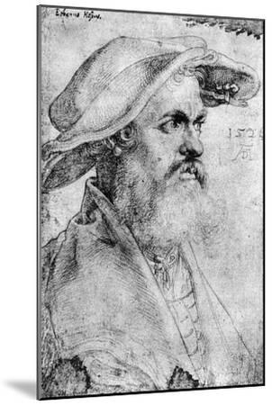 Eobanus Hesse, 1526-Albrecht Durer-Mounted Giclee Print